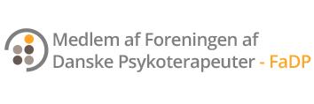 Logo medlem af Foreningen af Danske Psykoterapeuter - FADP